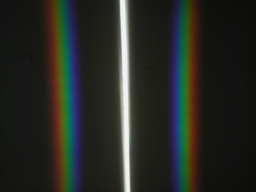 Two Prism Rainbows