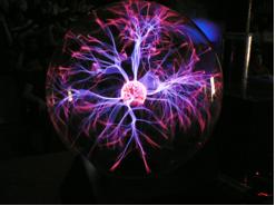 Pink Plasma Ball