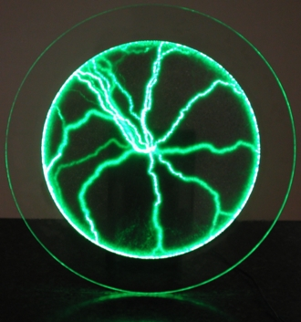 Green Plasma Ball