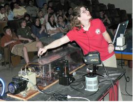 Demonstrating a plasma tube