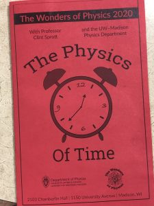 a program reading The Physics of Time